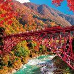 黒部峡谷の絶景を楽しもう!トロッコ列車で自然を満喫できるツアーは?